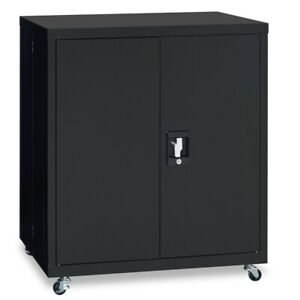 1 Shelf Metal Filing Cabinet Storage File Cabinet With Lock For Home And Office