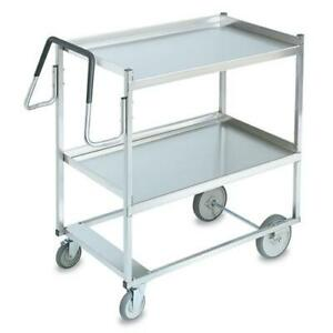 Vollrath 97202 23 In X 35 In 2 tier Stainless Steel Utility Cart