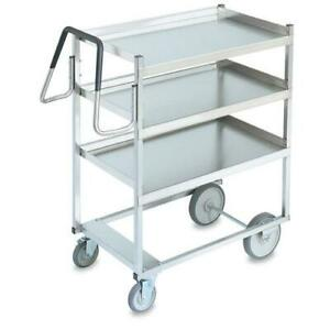 Vollrath 97203 23 In X 35 In 3 tier Stainless Steel Utility Cart