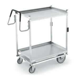 Vollrath 97205 20 In X 35 In 2 tier Stainless Steel Utility Cart