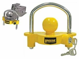 Universal Coupler Lock For Security Truck Equipment Heavy Duty Tow Hitch Reese