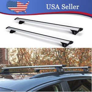 47 Luggage Roof Rack Cross Bar Rail Cargo For Audi Q3 Q5 Q7 Bmw X4 X5 X6 Volvo