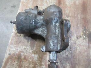 1972 Dodge Mopar Charger Power Steering Gear Box Assembly Working Part