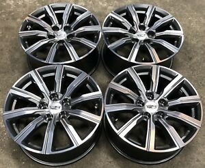 Cadillac Xt4 18 Grey And Machined Factory Oem Wheels Rims 2019 21 4820 2450