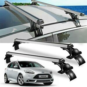 Universal 48 Car Top Roof Cross Bar Luggage Cargo Carrier Rack W 3 Kinds Clamp