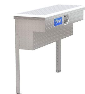 Uws Tbsm 36 Bright Silver 2 2 Cubic Ft 36 Truck Side Mount Aluminum Tool Box