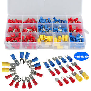 102 280 300x Insulated Assorted Electrical Wiring Connectors Crimp Terminals Set