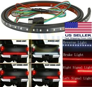 60 Inch Pickup Truck Brake Turn Signals Reverse Led Tail Light Strip