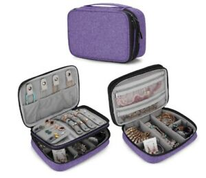 Travel Jewelry Organizer Case Storage Bag Holder For Necklace Earrings Rings