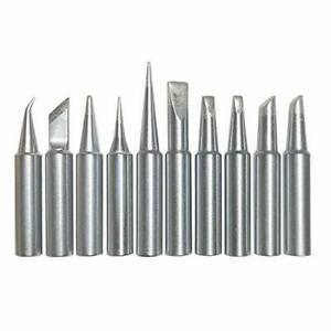 Best Replacement Hakko T18 Soldering Tip 10 Pcs Tip Set And Durable High Quality