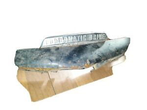 1951 Fordomatic Emblem And Taillight Cover
