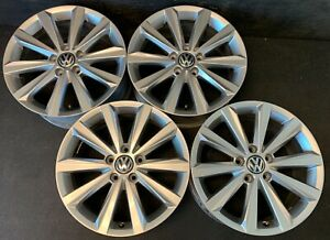 4 Vw Golf Eos Gti Jetta Passat Phaeton Rabbit Wheels Rims Caps 17 Audi A3