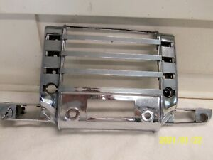 1941 48 Buick Chrome Dash Radio Grill