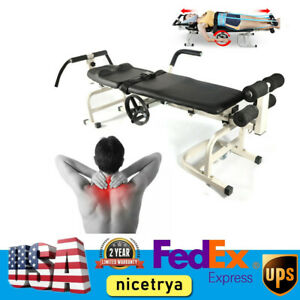 Lumbar Stretch Device Traction Bed Cervical Spine Stretching Massage Table 1 65m