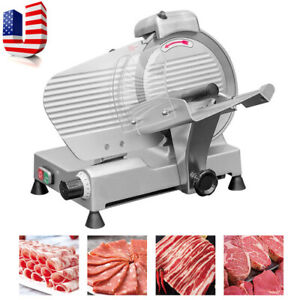 Good 10 Blade Semi automatic Meat Slice Cutting Meat Machine From Us