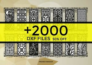 Dxf 2000 Cnc Vector Art File Ready To Cut For Cnc Plasma Router Laser Catalog