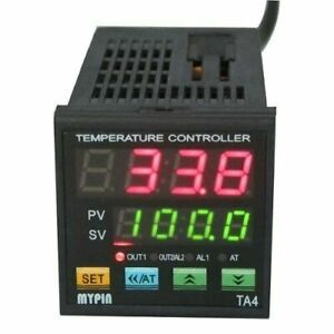 Upgraded Ta4 snr Digital Pid Temperature Controller 1 Alarm Relay Output Tc rtd