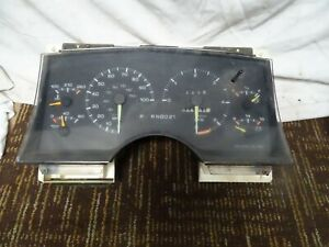 94 1994 Chevy S10 Speedometer Instrument Cluster Oem 326k Miles 16144915