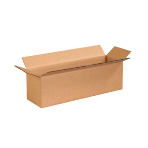 20 X 6 X 6 Long Corrugated Boxes Ect 32 Brown Shipping moving Boxes 25 bundle