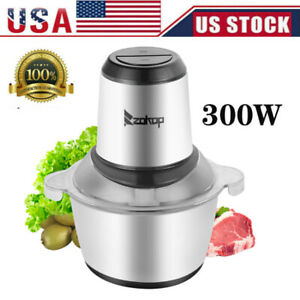 2l Electric Meat Grinder Home Kitchen Industrial Stainless Steel Sausage Maker