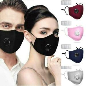 Activated Respiratory Filtered Breathable Mask pollutant debris Filter Hot Sale