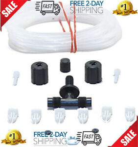 Air Line Hose Shock Adaptor Absorber Kit Rear Monroe Shocks Struts Install