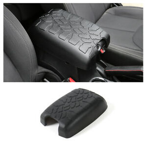 Center Console Armrest Box Cover Cushion Pad Mat For Jeep Wrangler Jk 2012 2017