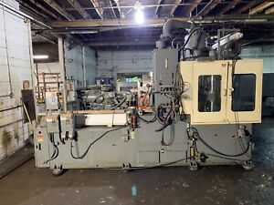 Nissei Td150r25ase 150 Ton Vertical Injection Molding Machine 1992