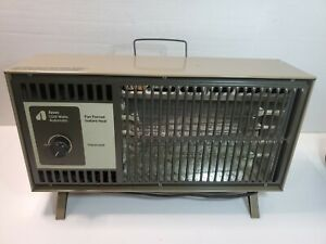 tested vintage Space Heater Arvin 1320 Watts Automatic Fan Forced Instant Taupe