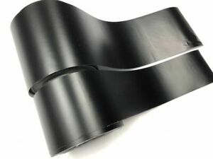 Black Realistic Paint Like Vinyl Auto Wrap Roll W Air Release Car Sticker Decals