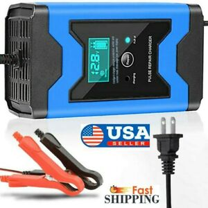 12v Car Jump Starter Booster Jumper Box Power Bank Battery Charger Portable