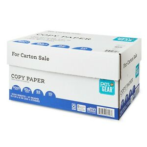 Case Copy Printer Printing Paper 8 1 2 X 11 Letter Size 10 Reams 5000 Sheets