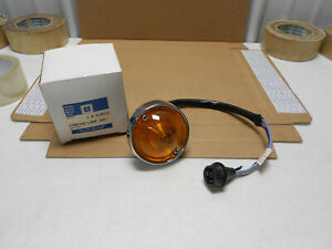 1 Nos Real Gm Guide 1963 67 Corvette Org Front Turn Signal Light Harness L88