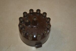 Delco Remy Distributor Cap Brown 12 Cyl Twin 6 Unknown Application Take A Look