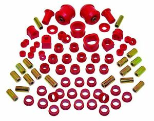 Prothane Total Suspension Kit For Nissan 240sx 95 98 S14 Bushing Inserts Kit Red