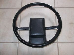 1993 Chevrolet Camaro Steering Wheel With Horn Button Black Color