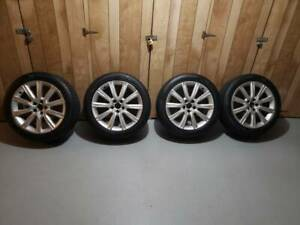 Set Of 4 Audi A6 Oem Rims Tires 18 Inches