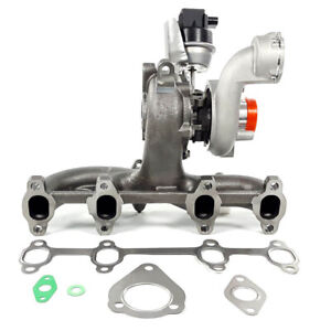 2004 06 Turbo Charger W Exhaust Manifold For Vw Beetle Golf Jetta Tdi 1 9l Bew
