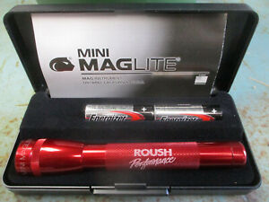 Ford Mustang Trunk Mounted Roush Tool Kit Red Mini Mag Lite New Reproduction