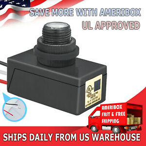 Outdoor Hard wired Post Eye Light Control With Photoelectric Switch Auto On off