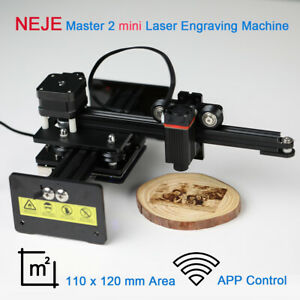 Neje 2 5w Output Mini Laser Engraver Diy Mark Printer Carver Engraving Machine