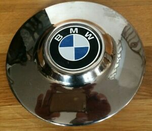 Vintage Chrome Wheel Cover Hub Cap For Bmw New Old Stock Nos
