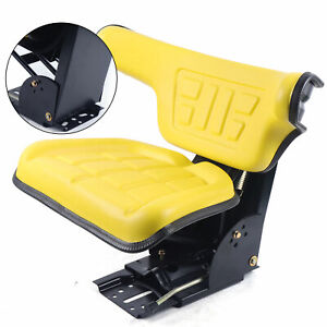 Tractor Suspension Seat Fits For John Deere 1020 1530 2020 2030 2040 2240 Yellow