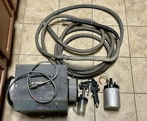 3m Accuspray Spray Gun 10 Hvlp 240 Turbine Hose Cup