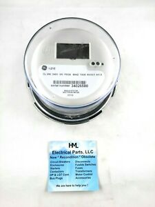 General Electric I 210 Cl 200 240v 3w Lcd Watthour Meter new