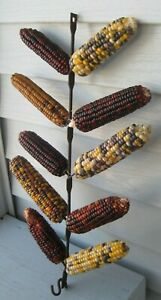 Antique Iron 10 Arm Corn Drying Rack Ready To Hang