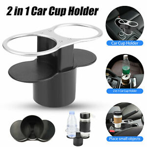 2in1 Multifunction Auto Car Seat Cup Holder Water Bottle Drink Coffee Shockproof