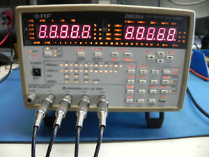 Lcr Meter Model Zm2354 By Nf Corporation
