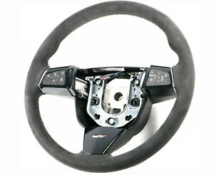 2009 2015 Cadillac Cts V Genuine Gm Manual Trans Suede Steering Wheel