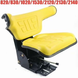 Yellow Tractor Suspension Seat For John Deere 820 830 1020 1530 2120 2130 2140
